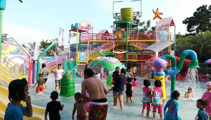 Kinh nghiệm đi Dream World Bangkok water fun