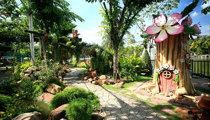 Kinh nghiệm đi Dream World Bangkok - vườn