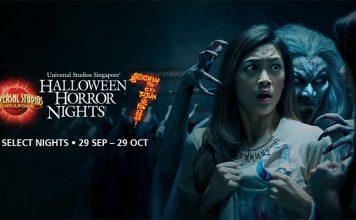 Đêm kinh hoàng ở Universal Studios Singapore - Halloween Horror Night?