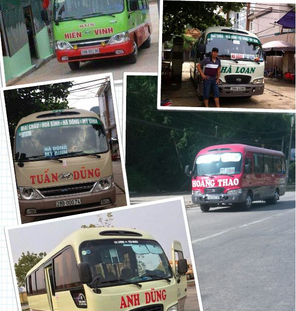 Lịch trình du lịch Mai Châu