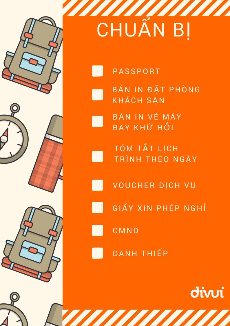 chuẩn bị giấy tờ nhập cảnh singapore