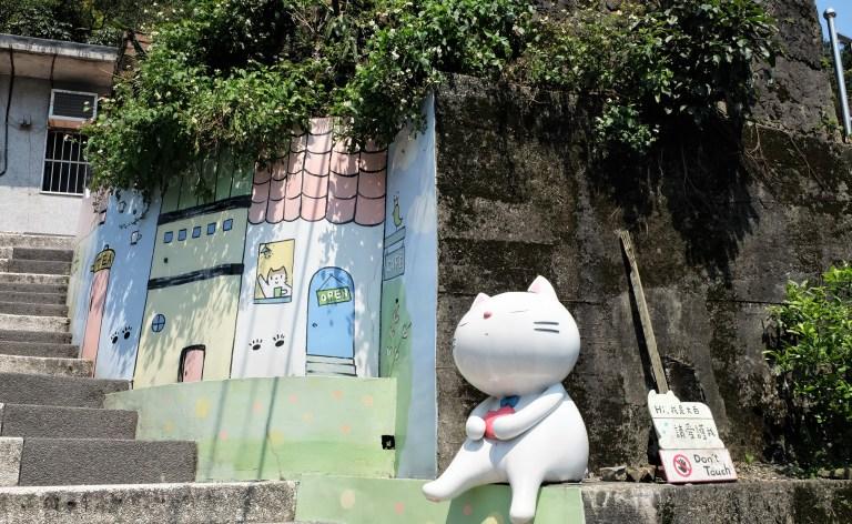 Làng Mèo Houtong xinh đẹp và nhiều mèo nhất Đài Loan
