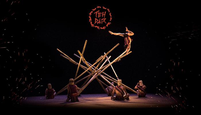 Một trong những màn biểu diễn choáng ngợp nhất của Teh Dar Show