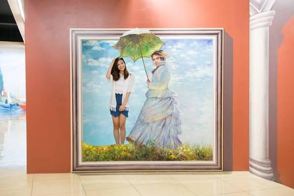 Hãy cùng trở thành một hình tượng nổi tiếng trong tranh