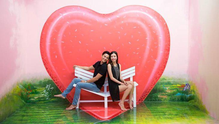 Các cặp đôi sẽ có những bức ảnh cực lãng mạn