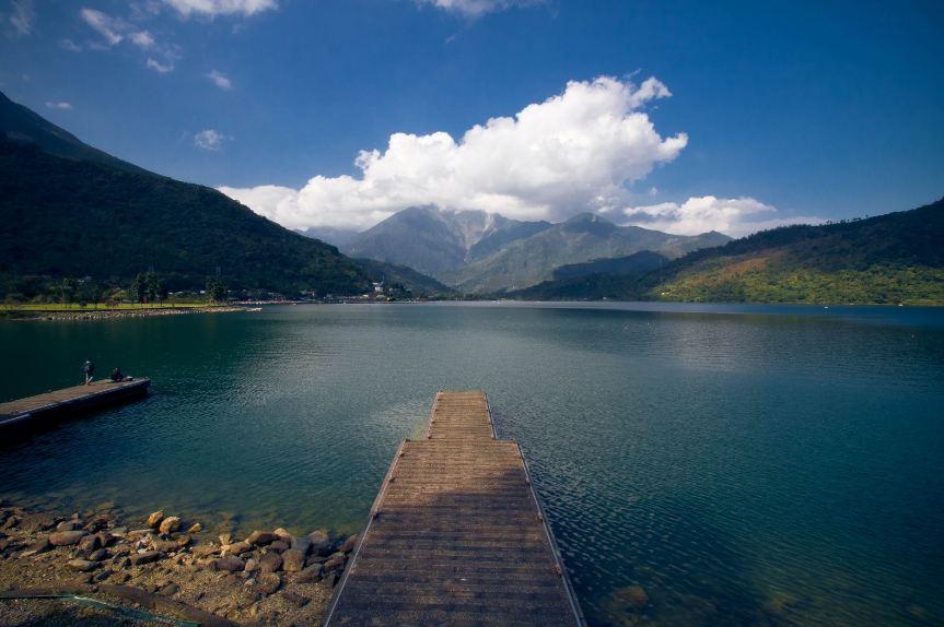 Vẻ đẹp thanh bình của hồ nước ngọt lớn nhất Hualien