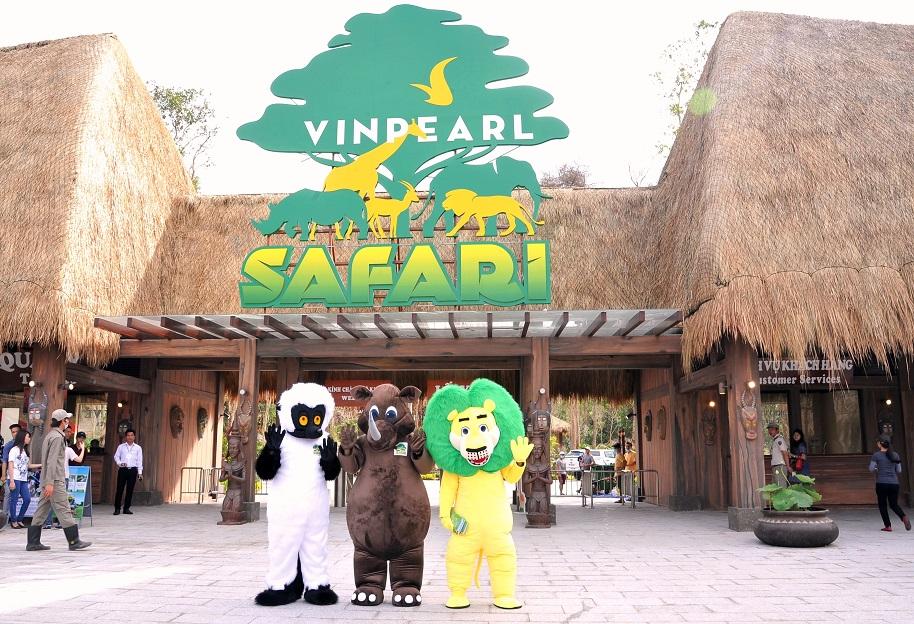 Trẻ em dưới 1m sẽ được free vé khi vào vườn thú Safari