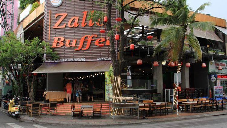 Nhà hàng Zallo Buffet có sức chứa lên đến 300 khách