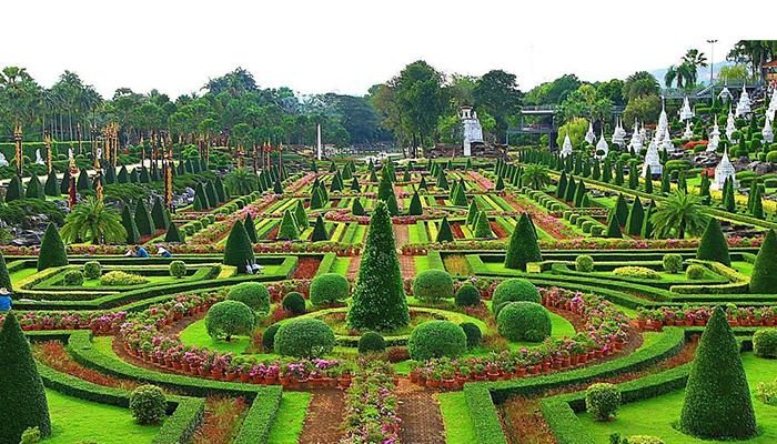 Vườn Nong Nooch luôn tốt tươi suốt 4 mùa