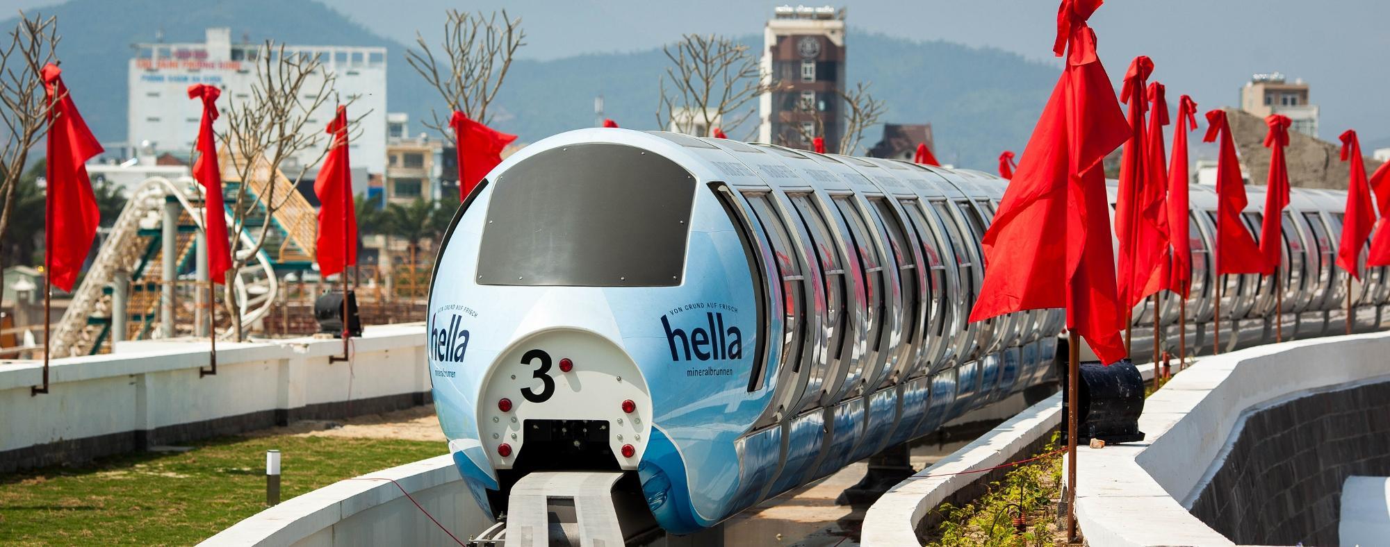 Tàu Monorail đầu tiên hiện đại nhất Việt Nam