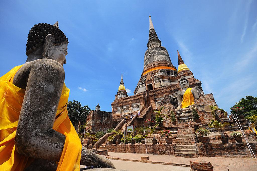 Cố đô Ayutthaya yên bình và cổ kính