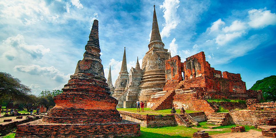 Nơi lưu giữ tro cốt của Hoàng Gia Thái Lan xưa