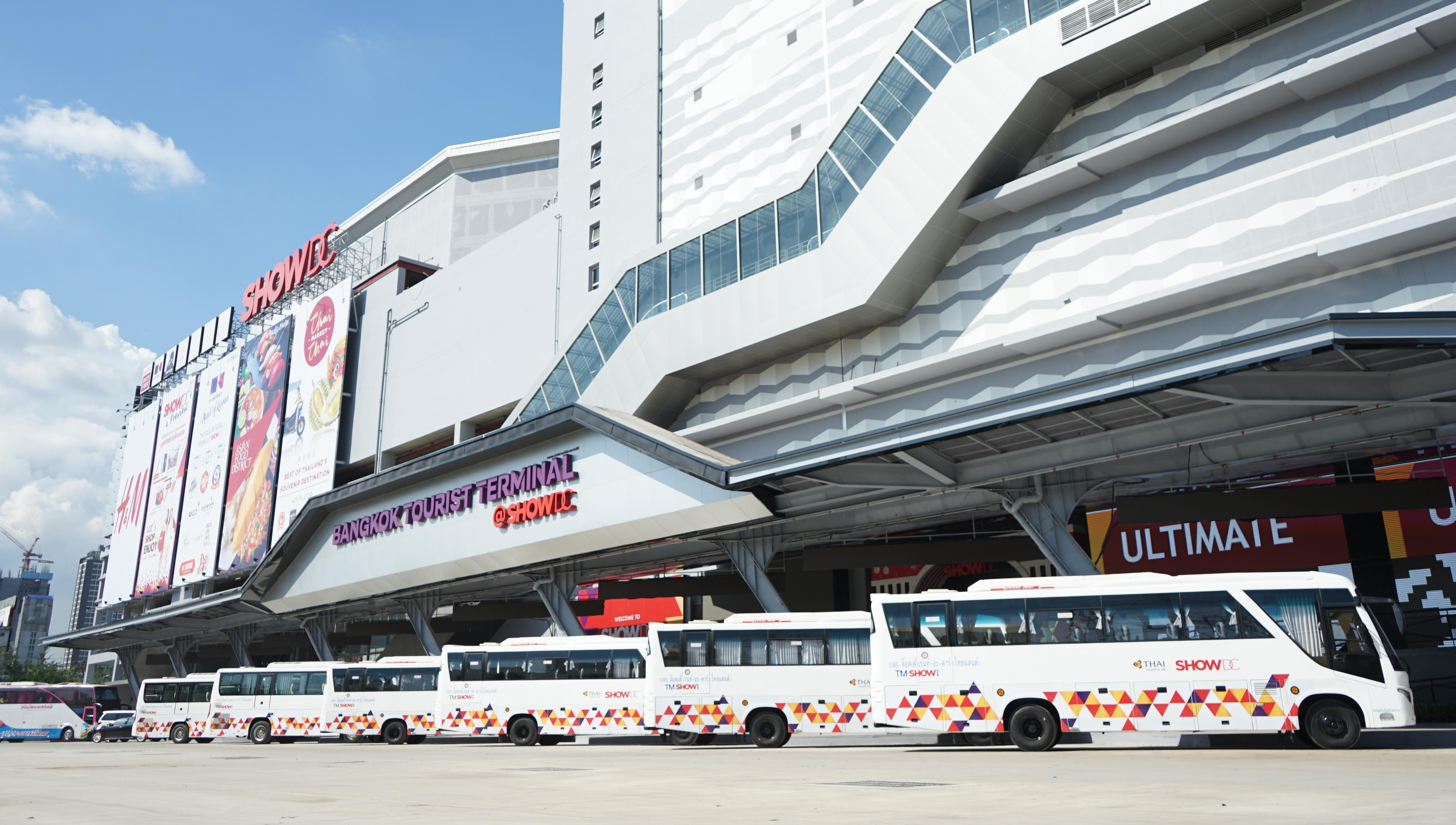 Những chiếc xe bus miễn phí đưa bạn đến Show DC Mall
