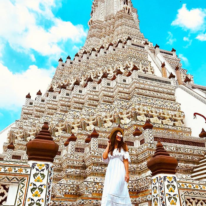 Tham quan Wat Arun - đền Bình Minh rực rỡ