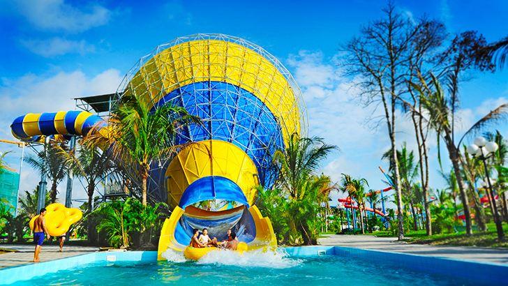 Trò trượt ống được ưa thích nhất công viên nước