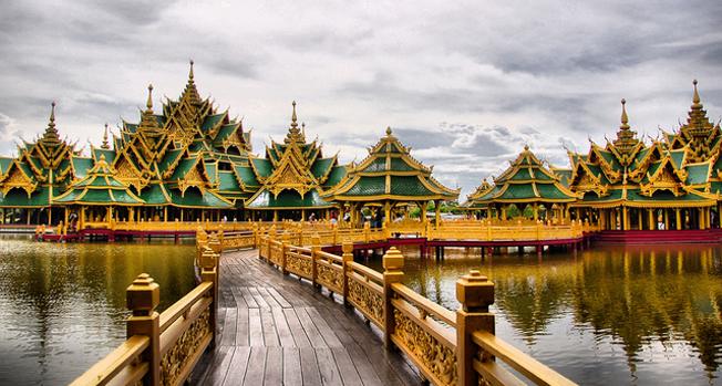 Một góc của Hoàng Cung Thái Lan