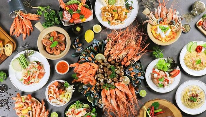 Hãy làm một bữa hải sản no nê để lấy sức trở về nhé!