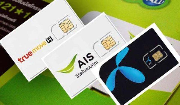 AIS, DTAC, TRUE MOVE là 3 nhà mạng lớn nhất Thái Lan