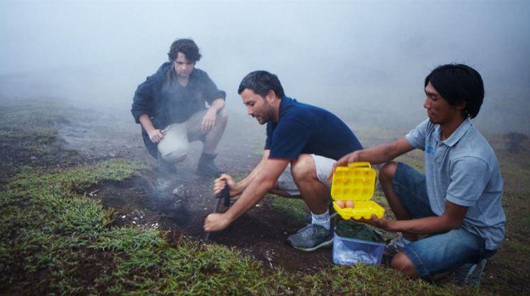 Liệu nấu ăn thế này có khiến núi lửa Batur thực giấc không?