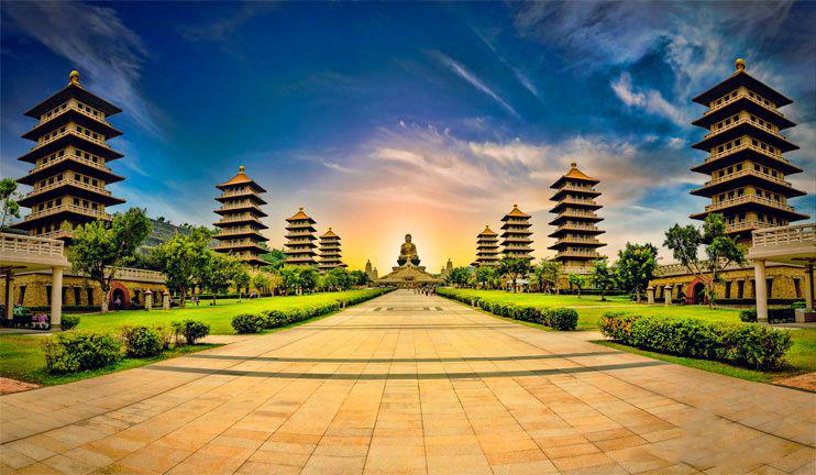 Quy mô tráng lệ của Phật Quan Sơn
