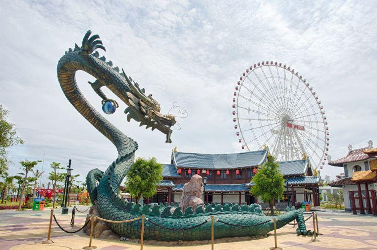 Một góc công viên Châu Á