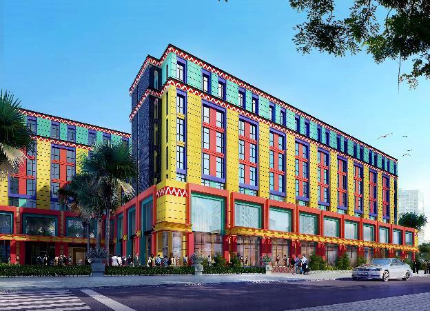 Coco Bay đón bạn với cụm khách sạn độc đáo và rực rỡ sắc màu