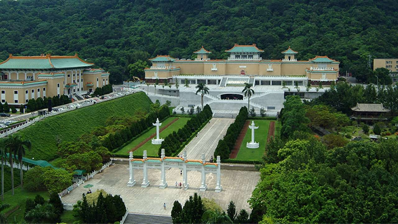 Không gian hùng vĩ và tráng lệ của Bảo tàng Cung điện Đài Loan