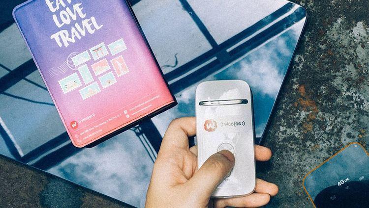 Với wifi Weefee bạn có thể lướt facebook, Instagram bất kỳ nơi đâu