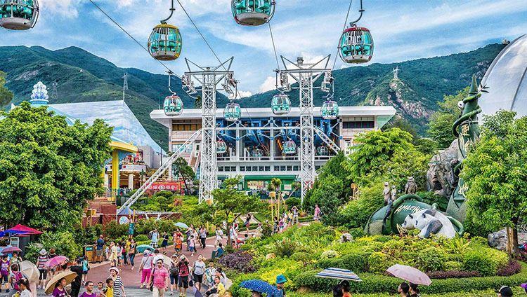 Không ai là không đến Ocean Park khi du lịch Hong Kong