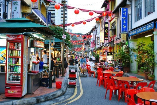 Chinatown là nơi dành cho những tín đồ mua sắm và ăn uống
