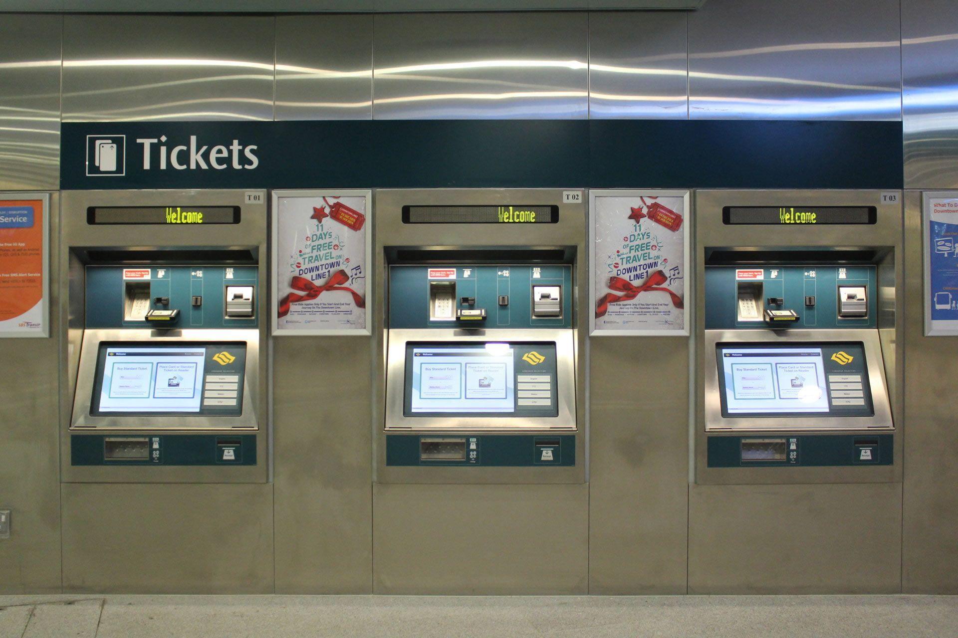 Đây chính là nơi bạn có thể mua thẻ EZLink ở sân bay