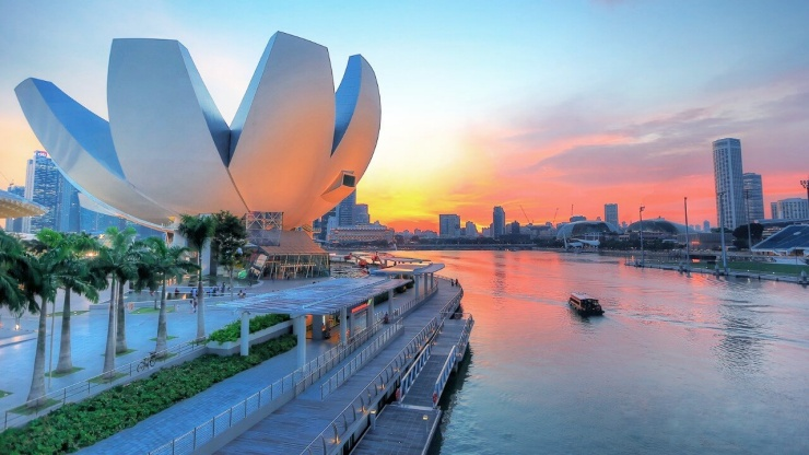Bản thân ArtScience Singapore là một công trình vĩ đại nhất mọi thời đại
