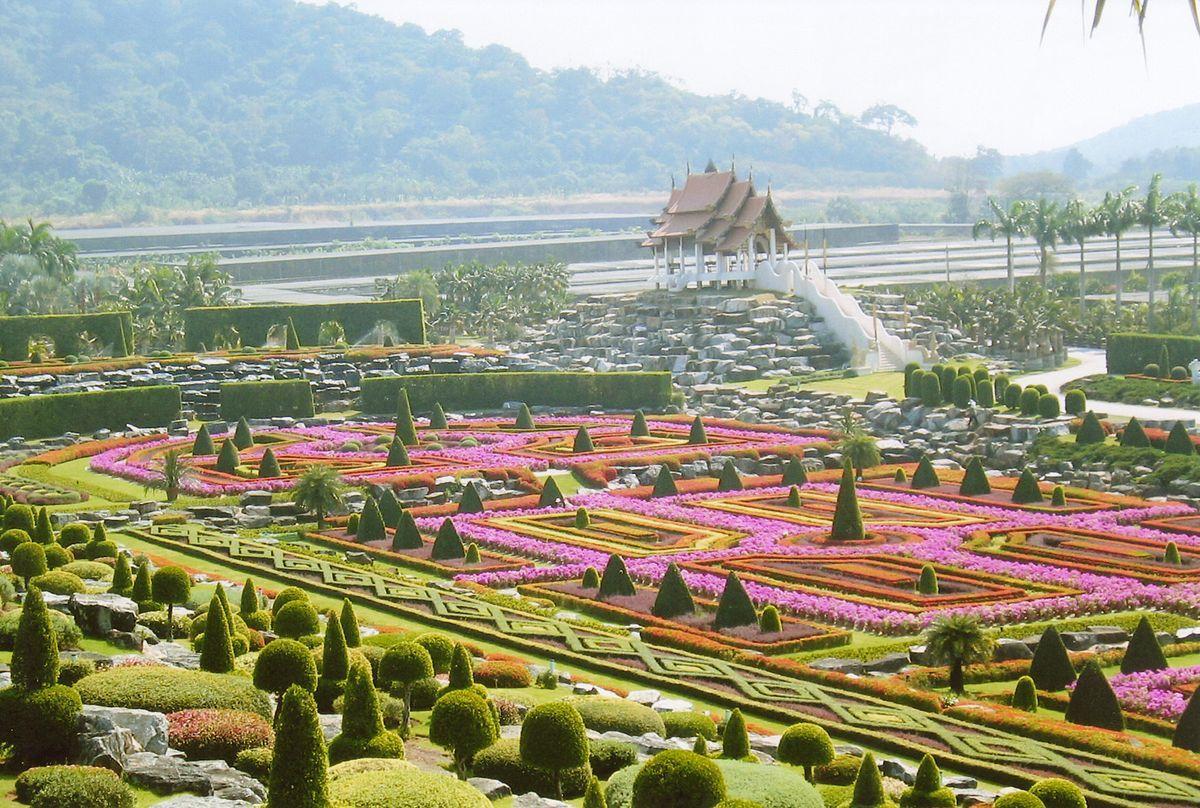 Một góc rạng rỡ của vườn Noong Noch Tropical