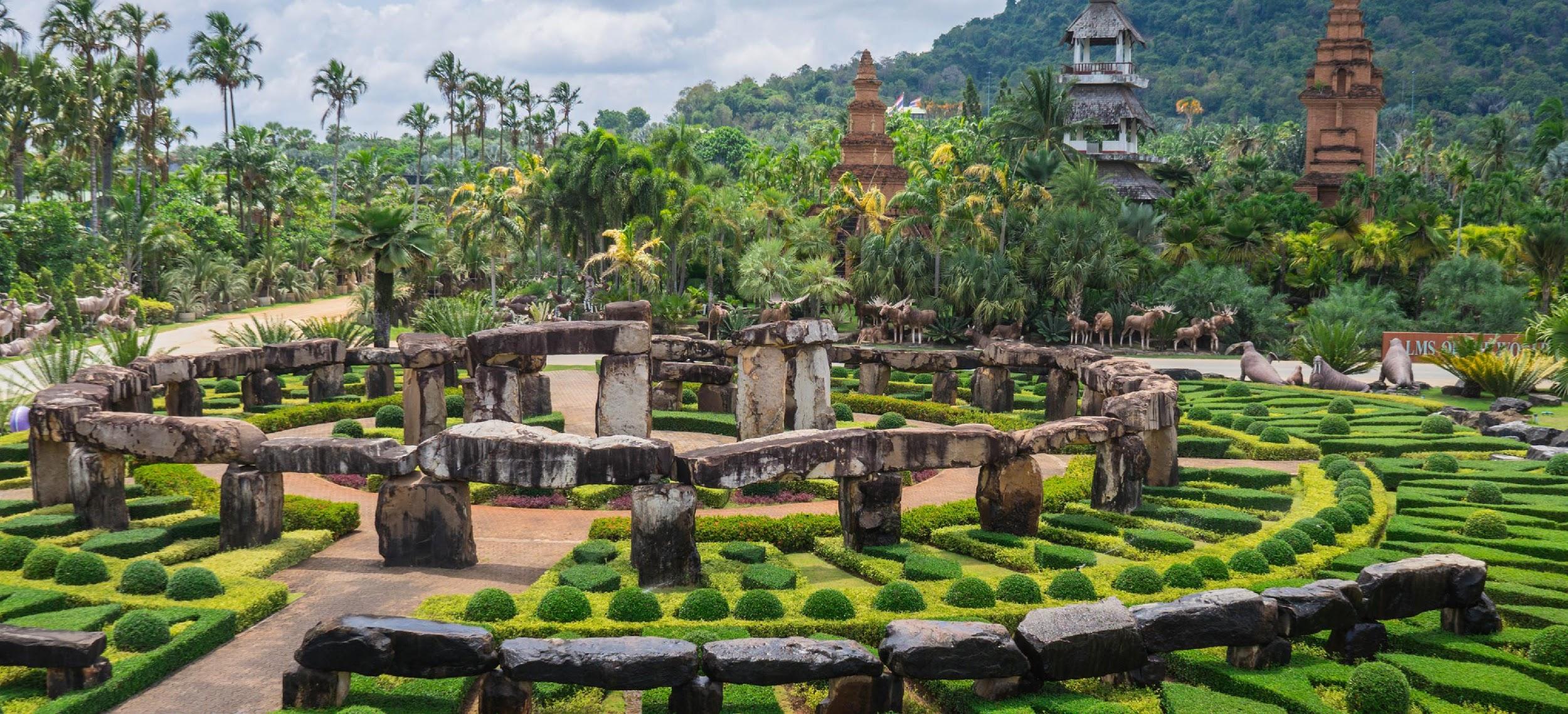 Vườn đá Stonehenge từ nước Anh xa xôi đã đến Pattaya