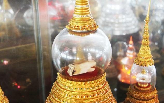Xá lợi răng Phật được lưu giữ trong điện Phật Ngọc – Kỷ niệm Quán Phật Đà