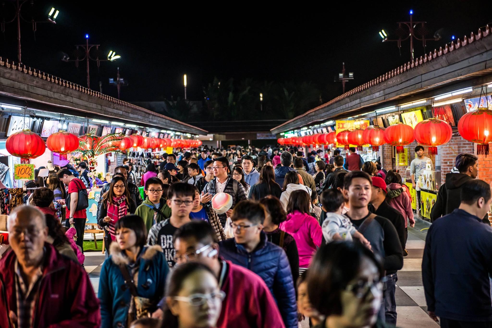 Chợ đêm Hoa Liên luôn đông đúc du khách thập phương