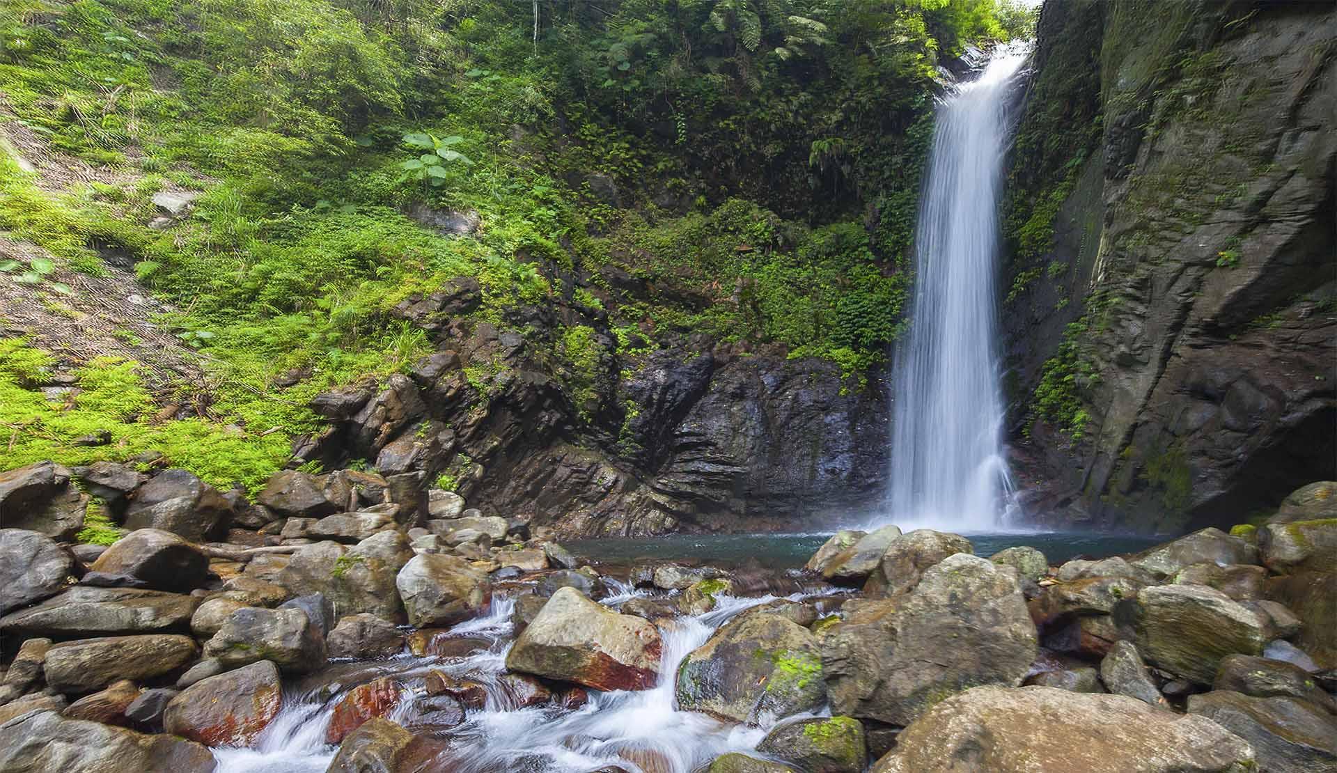 Khu vực thác nước thơ mộng tại Butterfly Valley