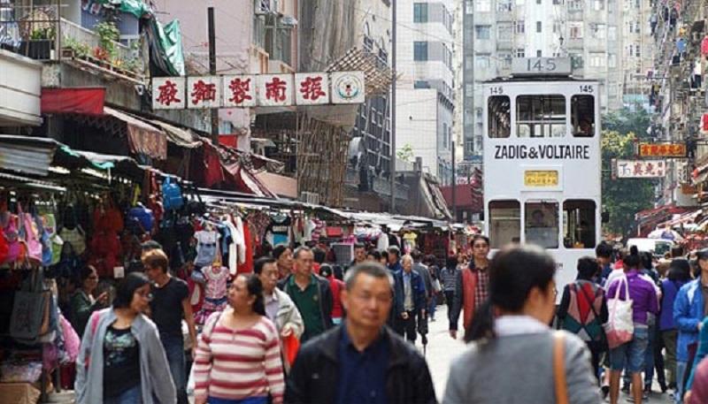 Khu chợ nổi tiếng ở HongKong mà xe điện Tramoramic đi qua