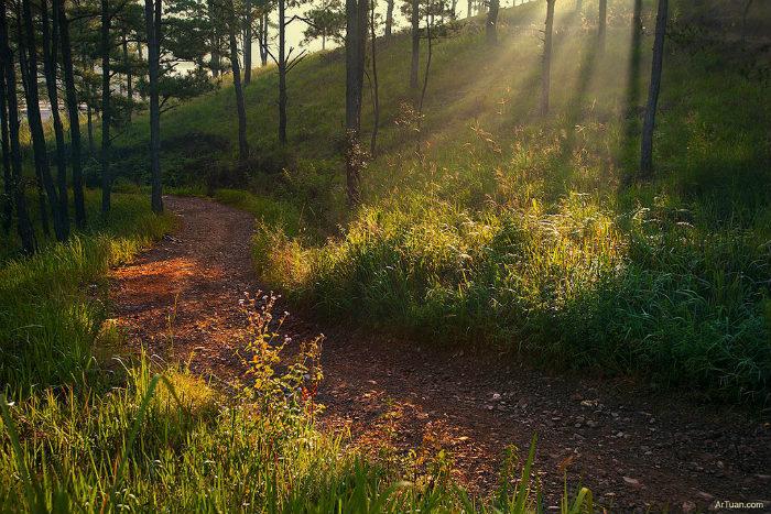 """Đường đi tuy """"xấu"""" nhưng cảnh quan thiên nhiên thì tuyệt vời"""