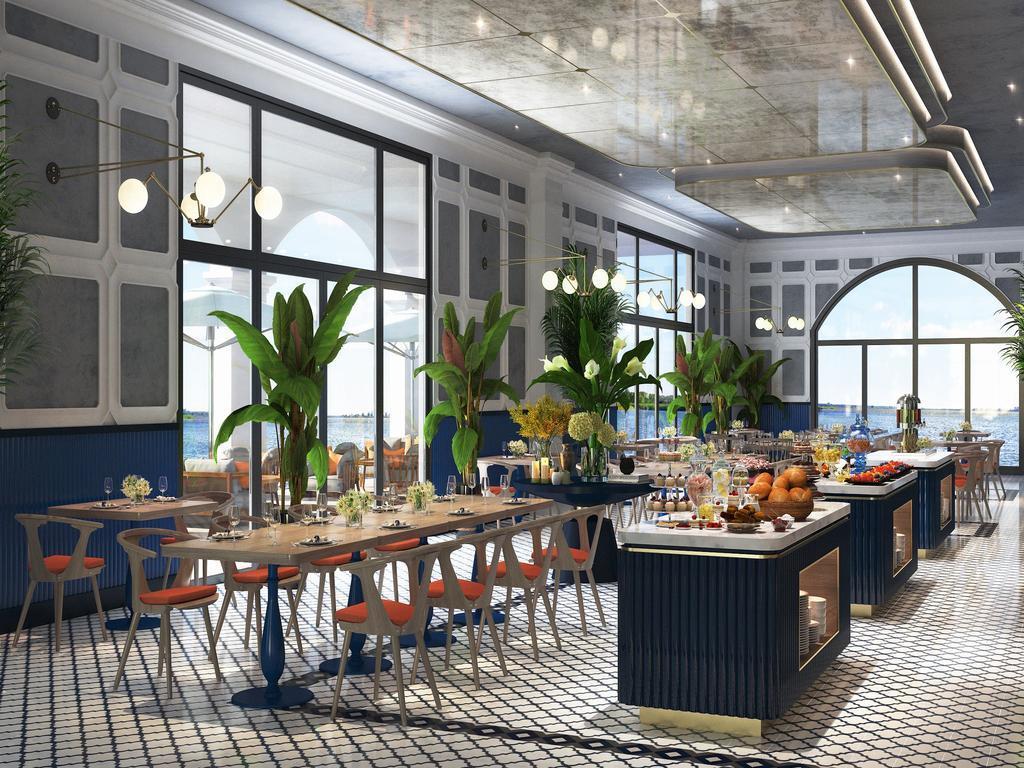 Khu vực nhà hàng tại Vinpearl Phú Quốc Resort
