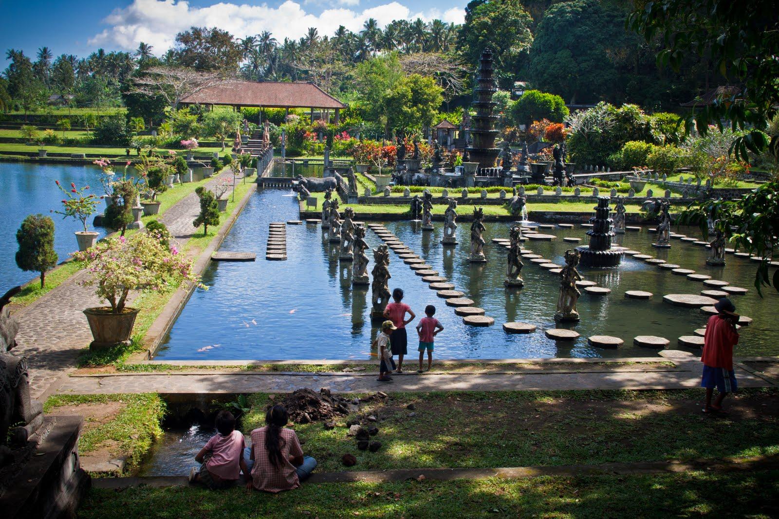Khu tham quan tại Water Bom Bali
