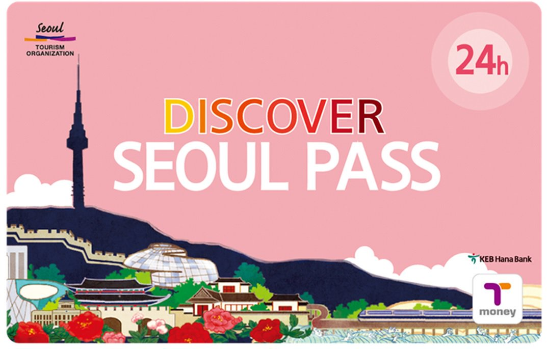 Thẻ Discovery Seoul Pass loại 24 giờ
