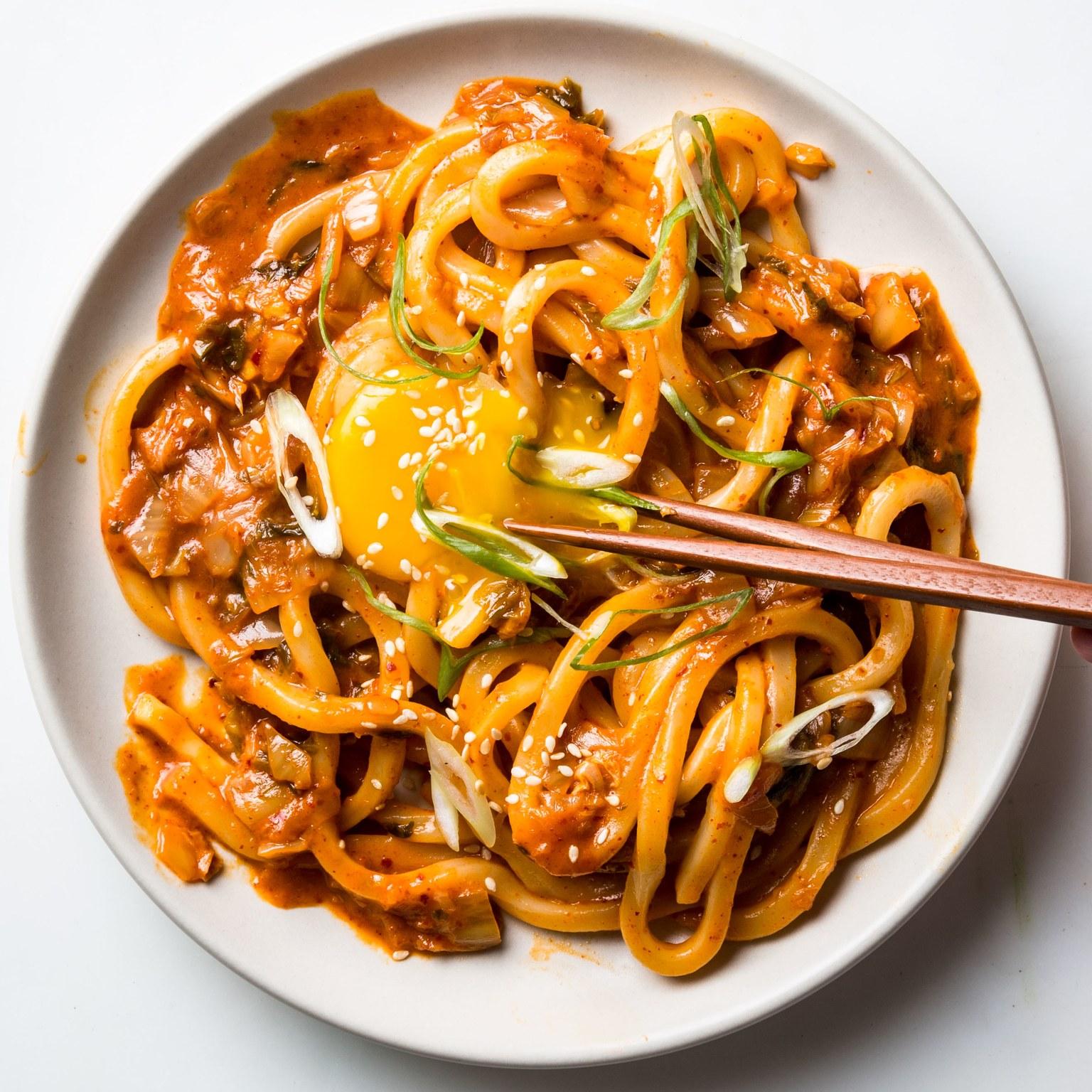Rất dễ để bạn có thể thưởng thức các món ăn truyền thống của Hàn Quốc như mỳ udon