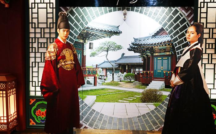 Ở MBC World có rất nhiều chỗ như thế này để bạn check-in và chụp ảnh