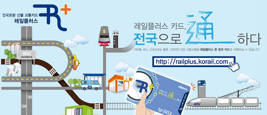 South Korea Railplus Transport giúp bạn thỏa sức vi vu khắp Hàn Quốc