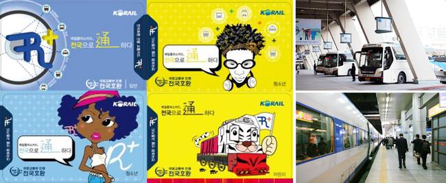 Thẻ South Korea Railplus Transport - trong những tấm thẻ mà ai cũng muốn sở hữu khi đến Hàn Quốc