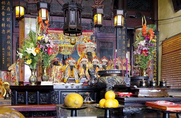 Chùa Fushan thờ thần thổ địa của Đài Loan