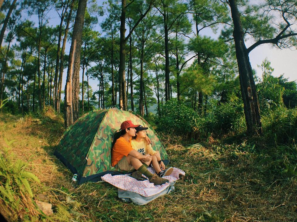Cắm trại trên đỉnh Bạch Mã là một trải nghiệm cực kỳ thú vị