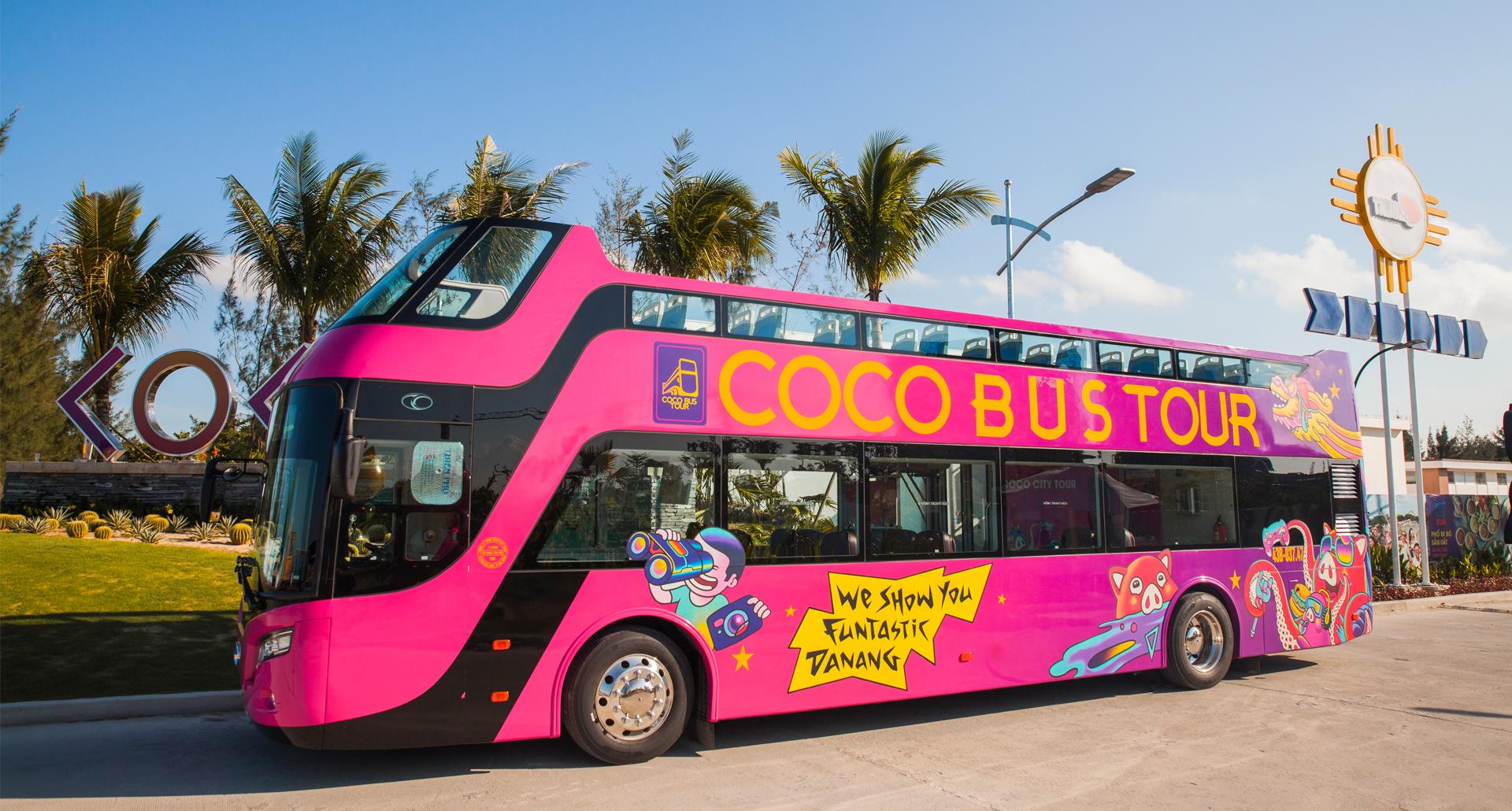 Coco Bus Tour - nét mới của du lịch Đà Nẵng