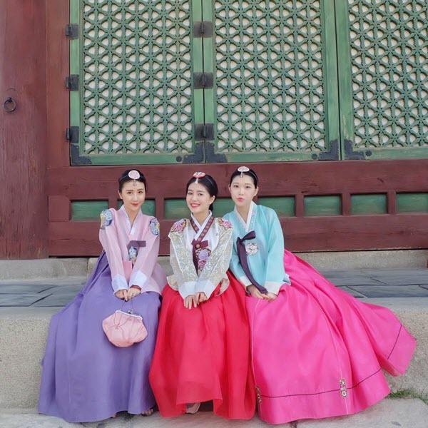 Hanbok là trang phục được mặc hàng ngày vào thời đại Jeseon